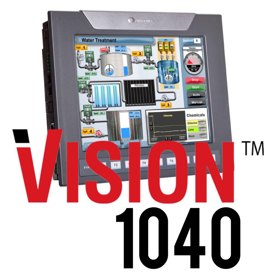 Unitronics V1040 10 Inch Hmi And Plc Integrated Plc Amp Hmi