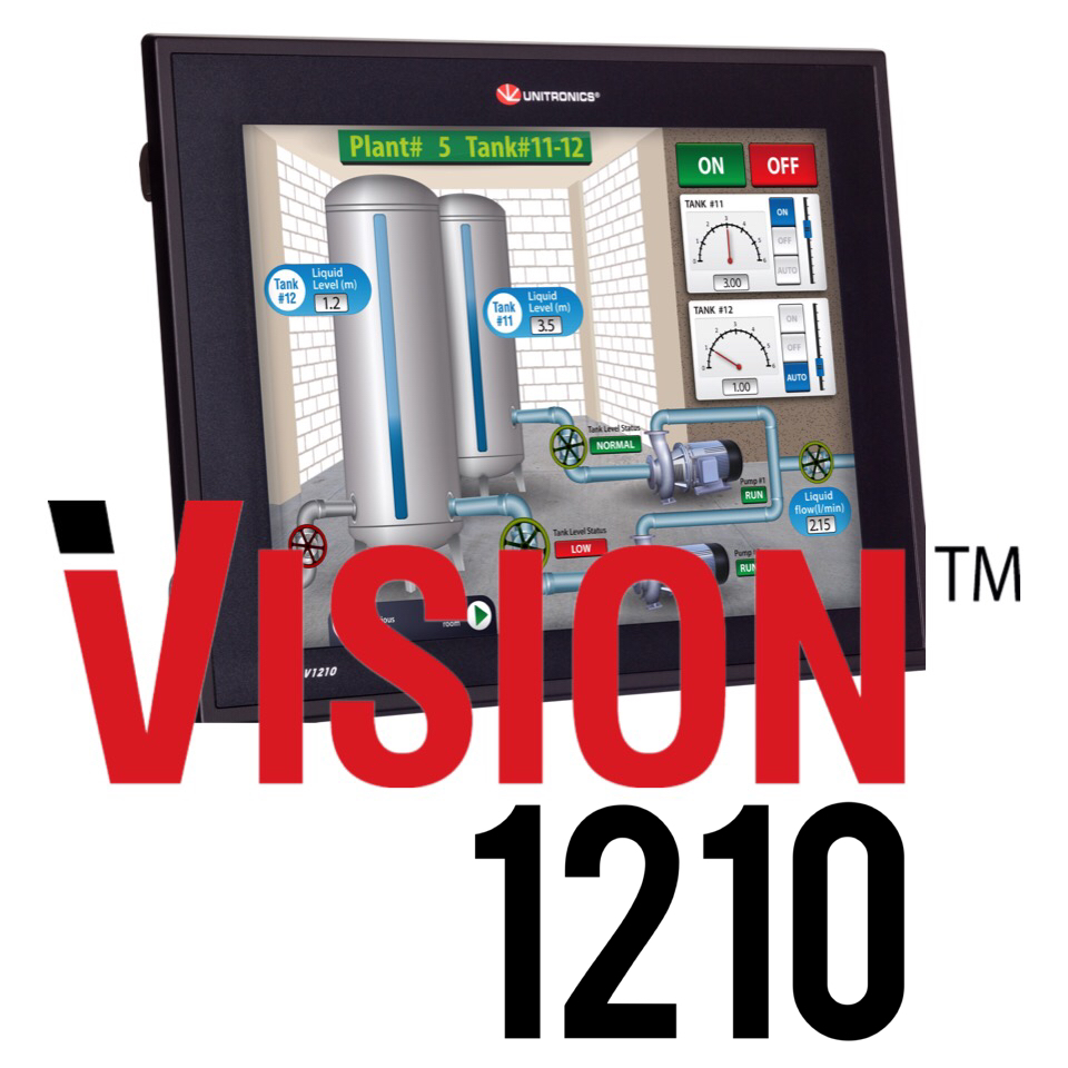 Unitronics is our Choice for PLC and HMI