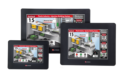 Unitronics Unistream integrated PLC & HMI